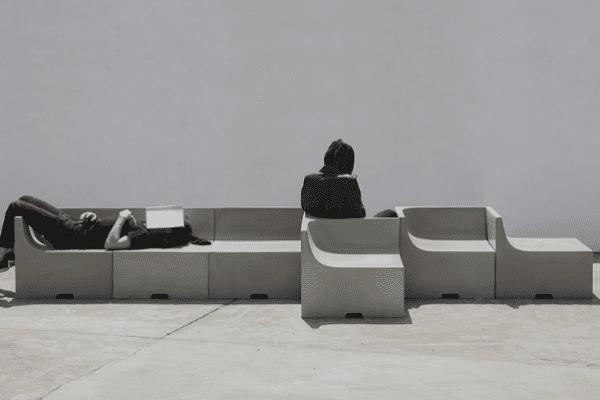 3 idées de meuble en beton
